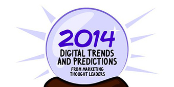 6 Digital Trends & Predictions for 2014 (Infographic) - Social Talent - Black belts in internet recruitment training | e-RH: Tecnologia Unindo Pessoas | Scoop.it