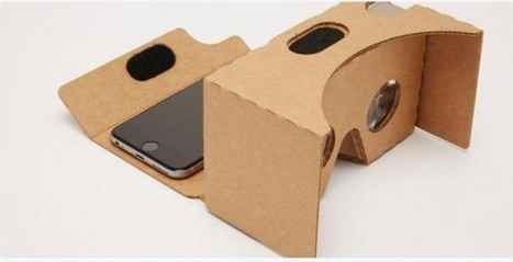 Google Carboard : la réalité virtuelle accessible à tous | Geeks | Scoop.it