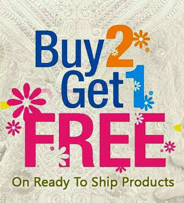 Buy 2 Get 1 Free on Ethnic Wears and Celebrate your moments with fascinating outfits. | Deals, Offers & Updates | Scoop.it