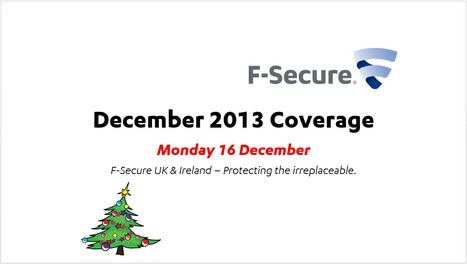 December Coverage (16th) | F-Secure Coverage (UK) | Scoop.it