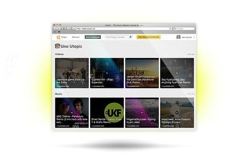 Utopic - Visual social bookmarking. Never lose a bookmark again. | MonetizeContent | Scoop.it
