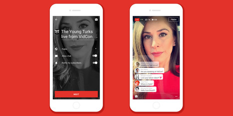 YouTube finally introduces livestreaming features on mobile | Fashion Technology Designers & Startups | Scoop.it