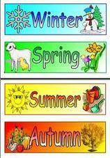Seasons In the UK English lesson winter spring summer autumn   English for dumbs   Scoop.it