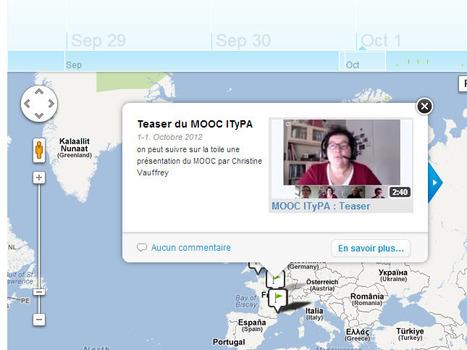Frise temporelle ... un blog animé sur la vie dans le MOOC #ITyPA | E-pedagogie, apprentissages en numérique | Scoop.it