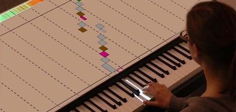 Une partition interactive pour vous apprendre à jouer du piano | Cabinet de curiosités numériques | Scoop.it