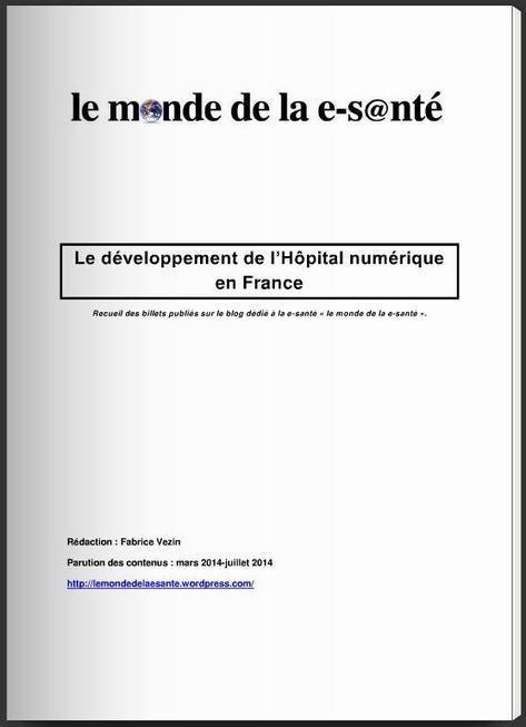 Présentation du développement de l'Hôpital numérique en France