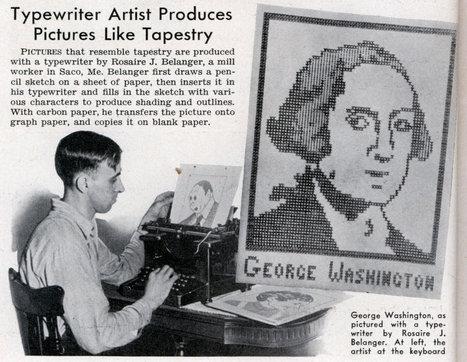 ASCII Art in 1939 | ASCII Art | Scoop.it