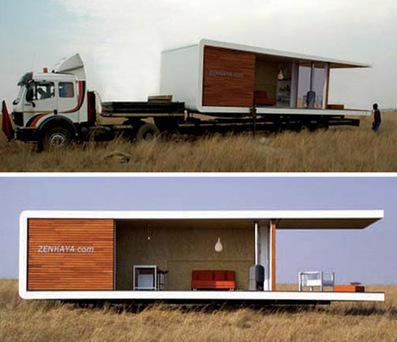 All-in-One Prefab Portable Modern House Design | Designs & Ideas on Dornob | Urban Design | Scoop.it