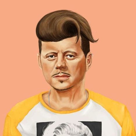 World Leader Hipster Illustrations | timms brand design | Scoop.it