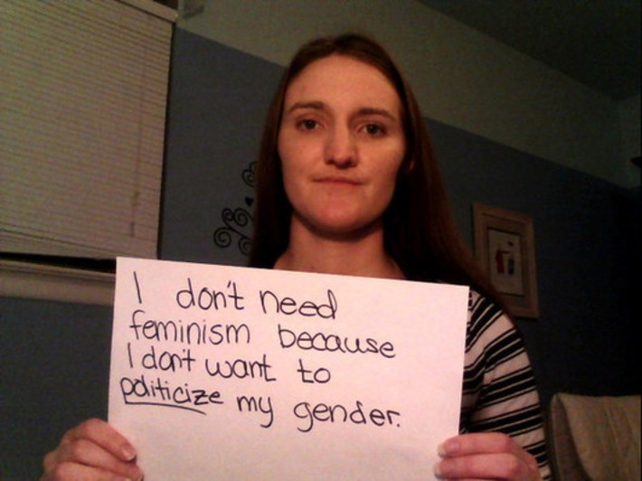Why They Don't Need Feminism According To 15 Women | Dare To Be A Feminist | Scoop.it