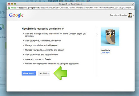 HootSuite Rolls Out Google + Pages, Here Is How To Set It Up — socialmouths | Social Media for Optometry | Scoop.it