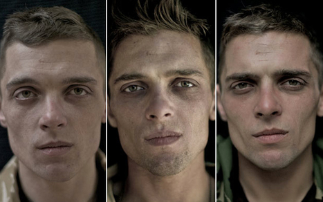"Poignant Photos of Soldiers Before, During, and After Serving in Afghanistan | ""Cameras, Camcorders, Pictures, HDR, Gadgets, Films, Movies, Landscapes"" 