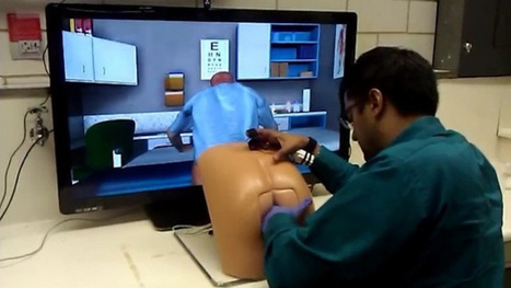 This robot butt is a painfully realistic video game for doctors | Digital-News on Scoop.it today | Scoop.it