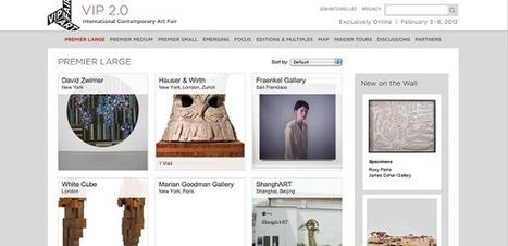 Deuxième édition de la VIP Art Fair, la foire d'art en ligne | Clic France | Scoop.it
