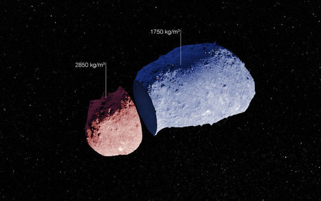 The anatomy of an asteroid | Physics | Scoop.it