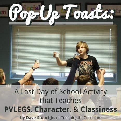 Pop-Up Toasts: A Last Day of School Activity | Cool School Ideas | Scoop.it