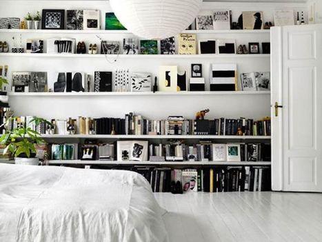 3 façons originales mais intelligentes de ranger ses livres | décoration & déco | Scoop.it