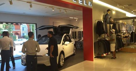 You can now buy a Tesla at Nordstrom | CLOVER ENTERPRISES ''THE ENTERTAINMENT OF CHOICE'' | Scoop.it