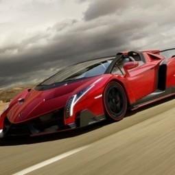 Lamborghini Unveils Limited Edition Veneno Roadster priced at 27.75 Crore - Gaadi.com | Mahindra Cars India | Scoop.it