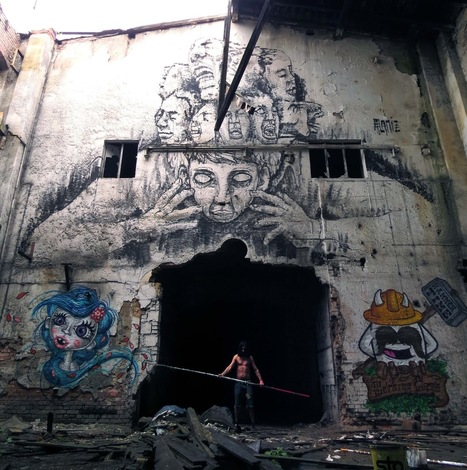 100 Incredible Pieces Of Street Art From Around The World | ESL33 | Scoop.it