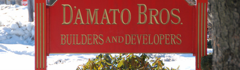 D'Amato Brothers Builders and Developers183 Quarry Rd.Milford CT 06460(203) 877-3276   PHMC Press   Scoop.it