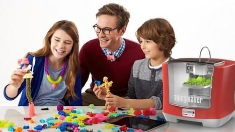 Mattel presenta impresora 3D para niños, para imprimir sus propios juguetes | Tastets de TIC I TAC | Scoop.it
