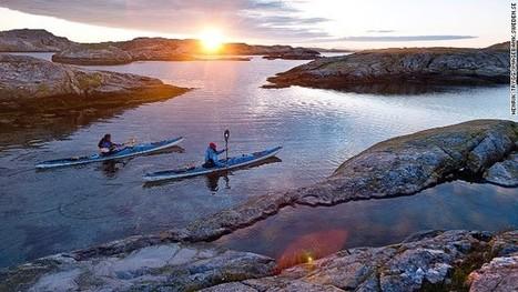 Paddling wild in Sweden's kayaking paradise - CNN International | VilaGul | Scoop.it