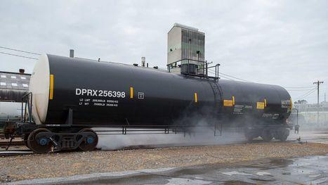 Fire crews rehearse a worst-case rail mishap | Hazardous Materials | Scoop.it