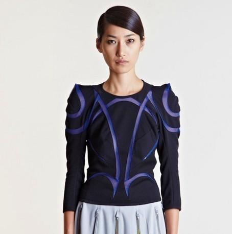 Junya Watanabe Ester Ponti Top | Highsnobette.com | COMME des | Scoop.it