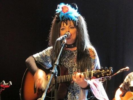 Nina Hagen en concert, assagie mais toujours agitée | allemagne musique | Scoop.it
