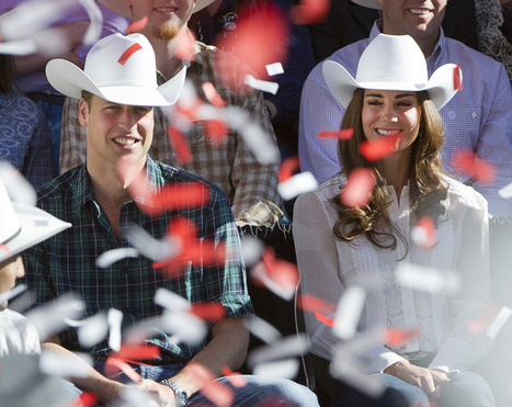 Stampede 100 Day Countdown: 2011 – Prince William and Kate charm Calgary   Calgary Herald   Calgary Stampede Through the Years   Scoop.it
