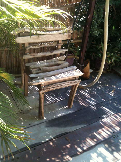 Driftwood chair   1001 Recycling Ideas !   Scoop.it