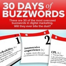 30 Overused Buzzwords in Digital Marketing [Infographic] | Marketing Revolution | Scoop.it