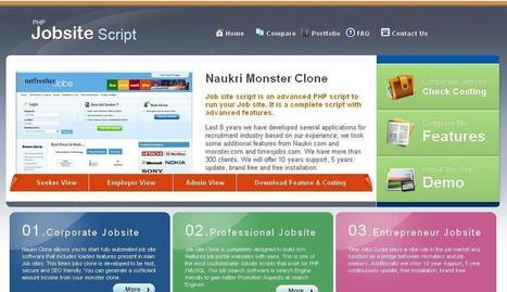 Naukri clone, timesjobs script, monster clone, job site script ...   naukriclone   Scoop.it