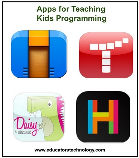 5 Good iPad Apps to Teach Kids Programming ~ Educational Technology and Mobile Learning | Elementary Technology Integration | Scoop.it