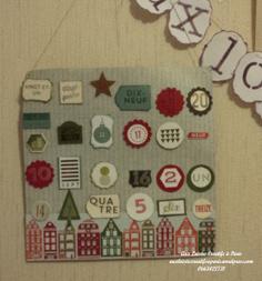 Atelier Calendrier de l'avent à l'école !!! | Loisirs Créatifs manuels | Scoop.it