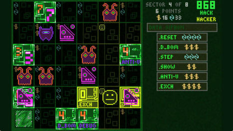 '868-HACK' Review - A Cyber-Roguelike that Excels in Design | SaladSlicer | Scoop.it