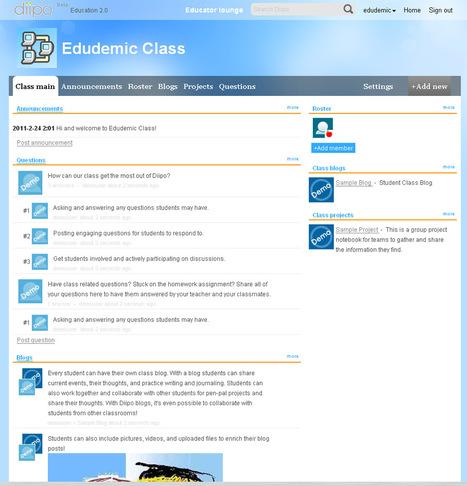 Nova plataforma de xarxes socials per als educadors Mixes Google Docs, Ning, Twitter i Facebook - Edudemic | EDUDIARI 2.0 DE jluisbloc | Scoop.it