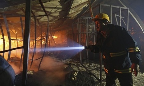 Burned down Aswad garment factory slipped through new safety net | safety of life | Scoop.it