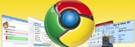 18 extensiones imprescindibles de Chrome para profesores y alumnos | Personal [e-]Learning Environments | Scoop.it