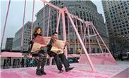 Picture gallery: Evian's snowy 'Live Young' playground | Experiential News! | Scoop.it