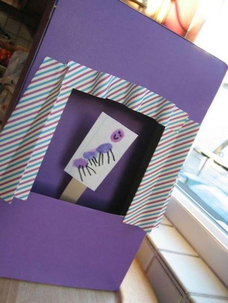 Cómo hacer un teatro de títeres con una caja de cereal - Las Manualidades | MANUALIDADES | Scoop.it