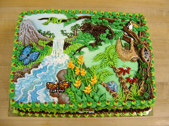 En Imágenes: 15 increíbles tortas de cumpleaños ~ Culturizando | arte y cultra | Scoop.it