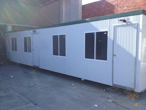 Portable Building 12X3m three room accomo site | Farm Machinery | Scoop.it