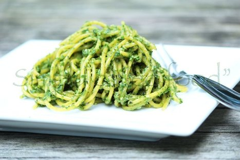 Kale and basil pesto | Photography | Scoop.it