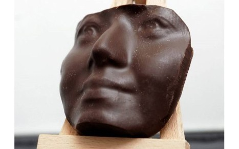 3D printer creates chocolate sculpture of your face - Telegraph | Pulled sugar | Scoop.it