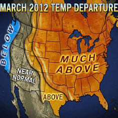 NOAA Confirms Unprecedented Warmth in March | Coordenadas | Scoop.it
