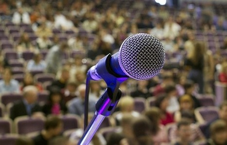 5 Steps to Conquering Public-Speaking Anxiety | Talk is Cheap | Scoop.it