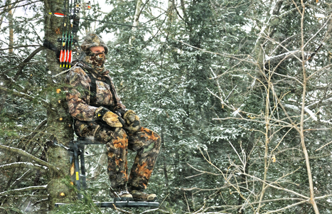 How to keep warm in the deer stand for late-season hunting | Hunting Gears | Scoop.it