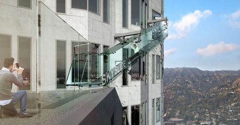 """Los Angeles' Tallest Tower to Get Terrifying """"Skyslide"""" 